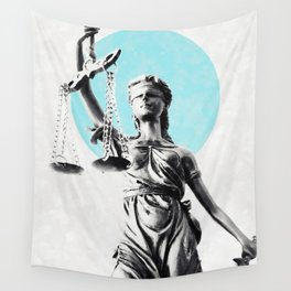 Lady of justice Wall Tapestry