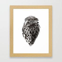 eagle shaman Framed Art Print