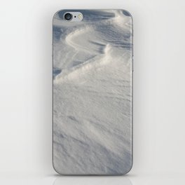 April snow drifts iPhone Skin