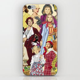 Womans Collection iPhone Skin