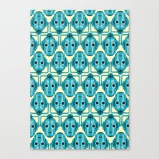 Doctor Who: Cybermen Pattern Canvas Print