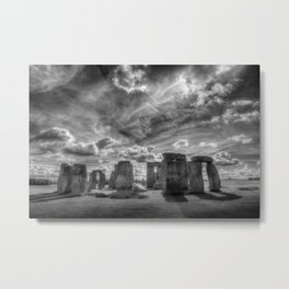 Ancient Stonehenge Metal Print