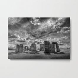 Ancient Stonehenge Metal Print
