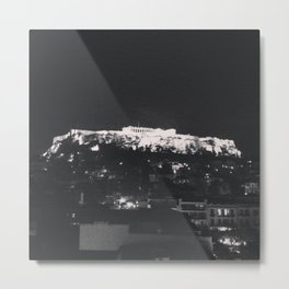 Akropoli - When in Athens  Metal Print