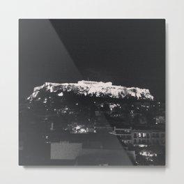 Akropoli - When in Athens  Metal Print