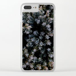 dewy yew Clear iPhone Case