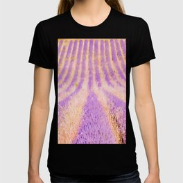 Field Of Lavender Provence France T-shirt
