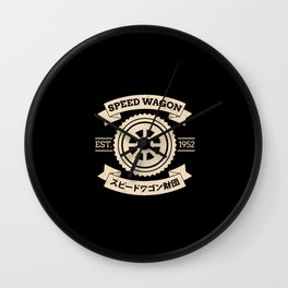 SPW - Speed Wagon Foundation Wall Clock