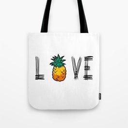 Love Pineapple Tote Bag