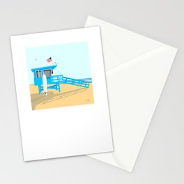 Lifeguard Tower Stationery Cards