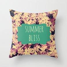 Summer Bliss Throw Pillow