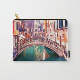 Small Bridge in Venice Carry-All Pouch