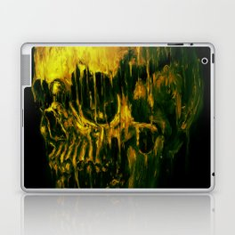 Melting Skull Laptop & iPad Skin