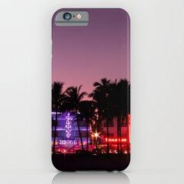 South Beach Miami, FIne Art Landscape Photography iPhone Case