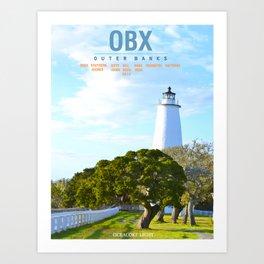 Ocracoke Island.  Art Print