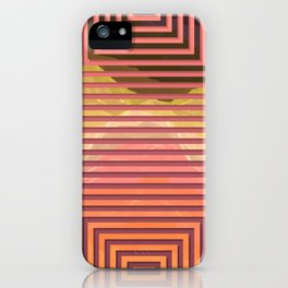 TOPOGRAPHY 2017-015 iPhone Case