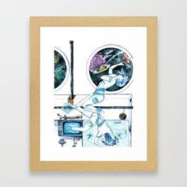 Gemini Journey Framed Art Print