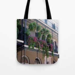 New Orleans Florals Tote Bag