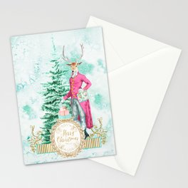 Merry Christmas my deer Stationery Cards