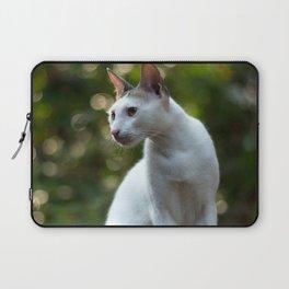 cat pose Laptop Sleeve