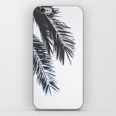 Palm Tree leaves abstract II iPhone Skin