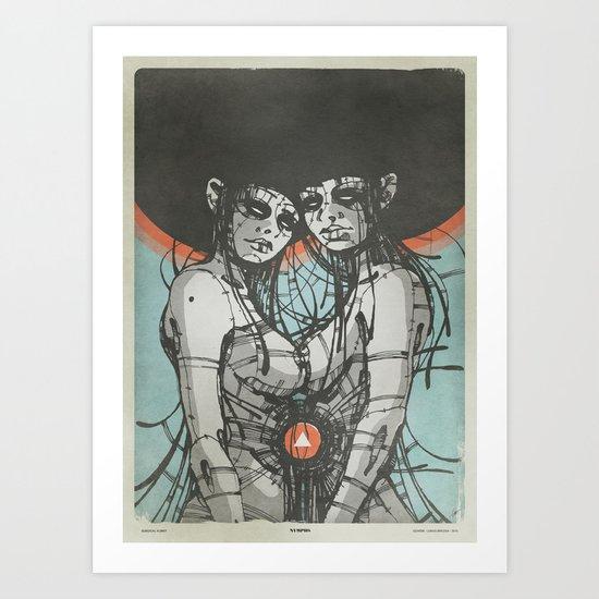 Nymphs (Ext) Art Print