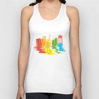 dreams Tank Tops featuring Summer of Melted Dreams by Rachel Caldwell