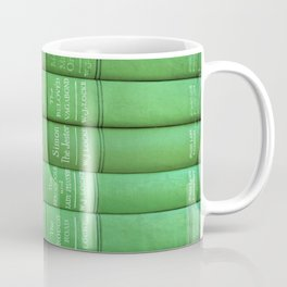 Antique Green Spines Coffee Mug