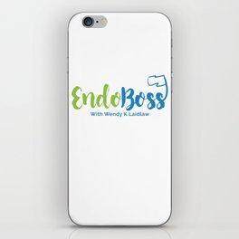 EndoBoss With Wendy K Laidlaw iPhone Skin
