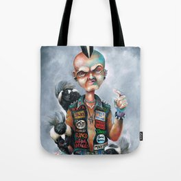 Skunk Punk Tote Bag