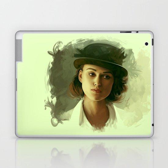 Keira Knightley in hat Laptop & iPad Skin