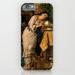 William Holman Hunt - Isabella and the Pot of Basil iPhone Case