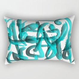 Blue revolution Rectangular Pillow