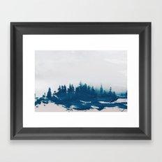 Hollowing souls Framed Art Print