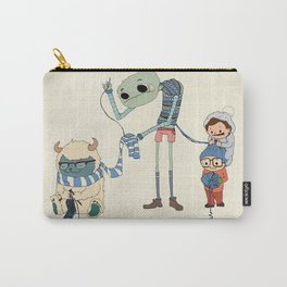 Knitting Train Carry-All Pouch
