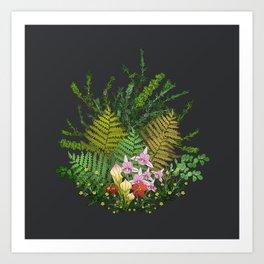 Bog Bouquet Art Print