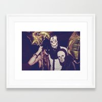 misfits Framed Art Prints featuring Misfits by Sons of Suns