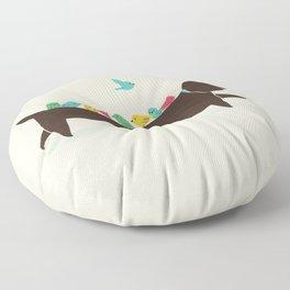 Bird Dog Floor Pillow