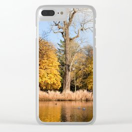 Lazienki Park in Warsaw Clear iPhone Case