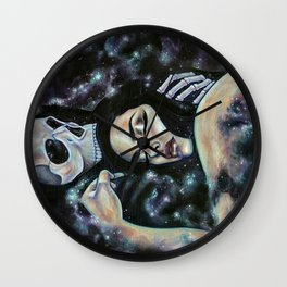 We Are Destined For One Another Wall Clock