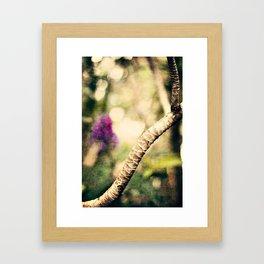 In the Garden 2 Framed Art Print