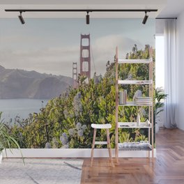 The Golden Gate Bridge in Spring Wall Mural