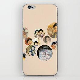 Beijing 6576 Asian vintage atmosphere with women iPhone Skin