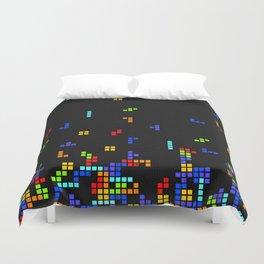 Tetris Time Duvet Cover