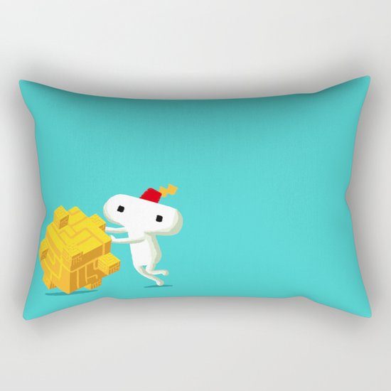 The Prince with a FEZ Rectangular Pillow
