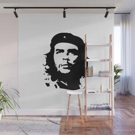 Che Guevara in Black Wall Mural