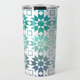 Pre-Columbian-Islamic Fusion Travel Mug