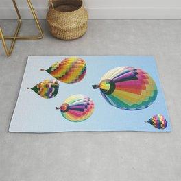 Hot Air Balloon Festival Rug