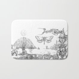 Songs of Elsewhere (Full Illustration) Bath Mat