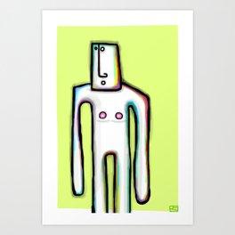Shado Uno Art Print